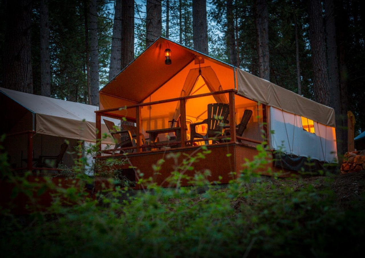 Glamping Tents - Inn Town Campground
