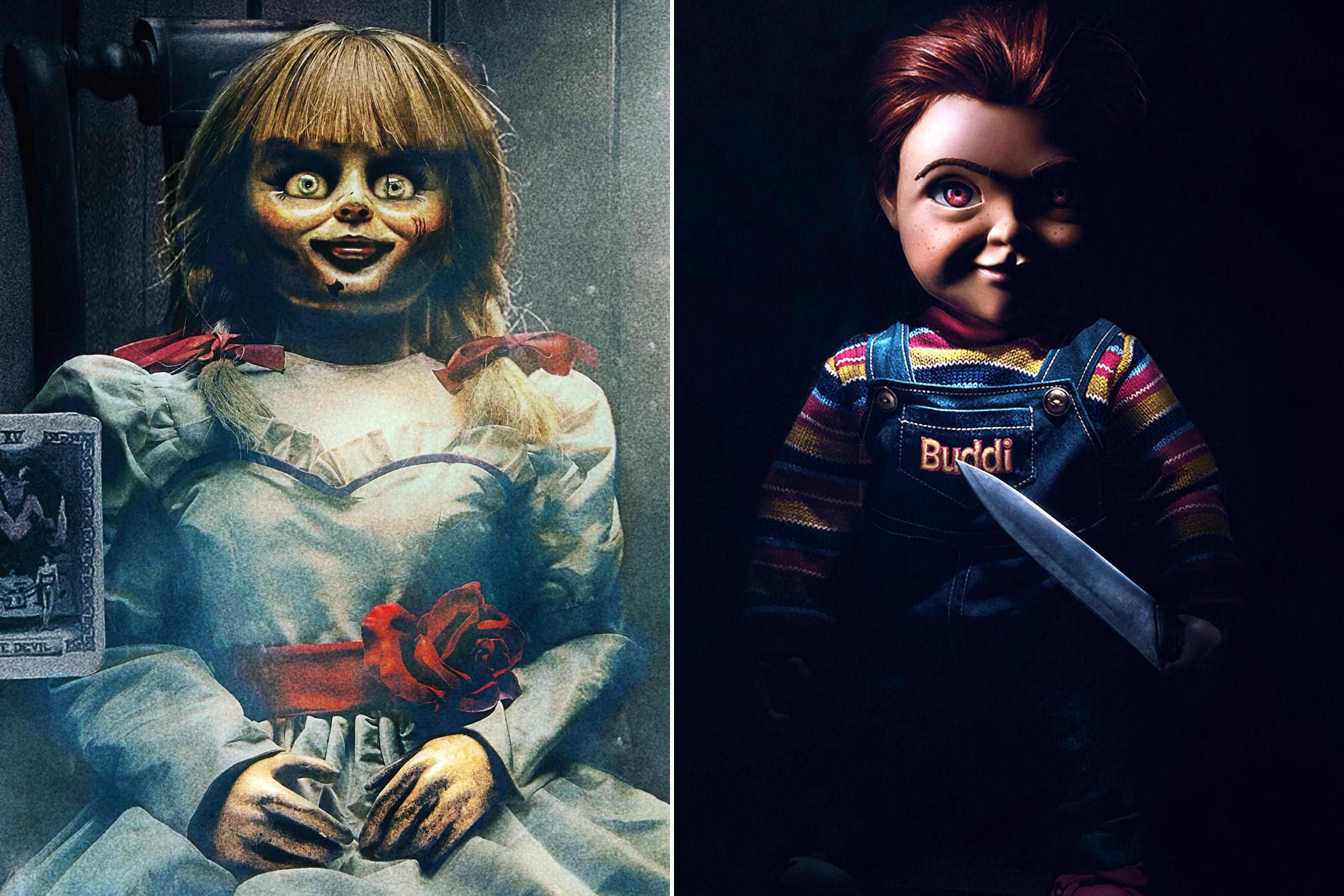 Annabelle vs. Chucky Who would win? Chucky, Scary