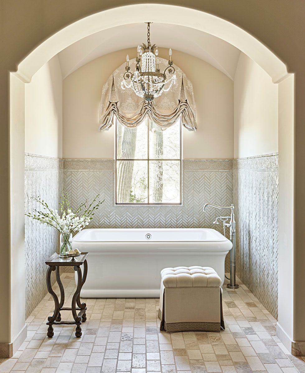 Design Ideas For Neutral Color Master Bathrooms Traditional