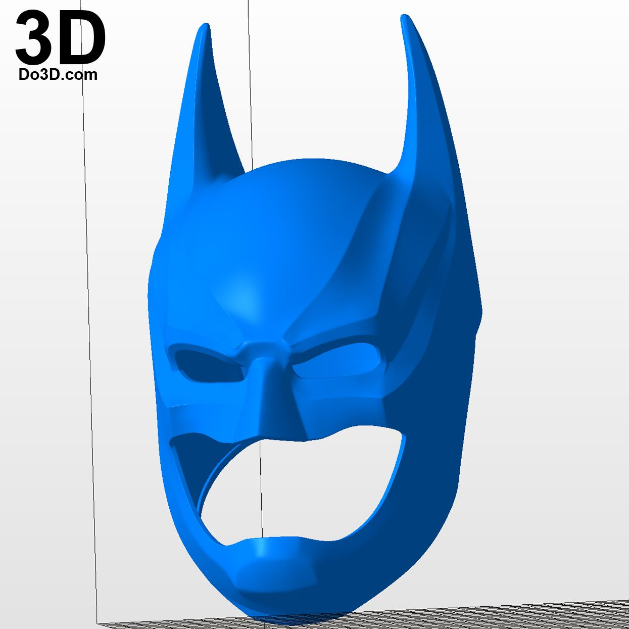 3D Printable Model: Batman Injustice 2 Helmet Cowl   Print