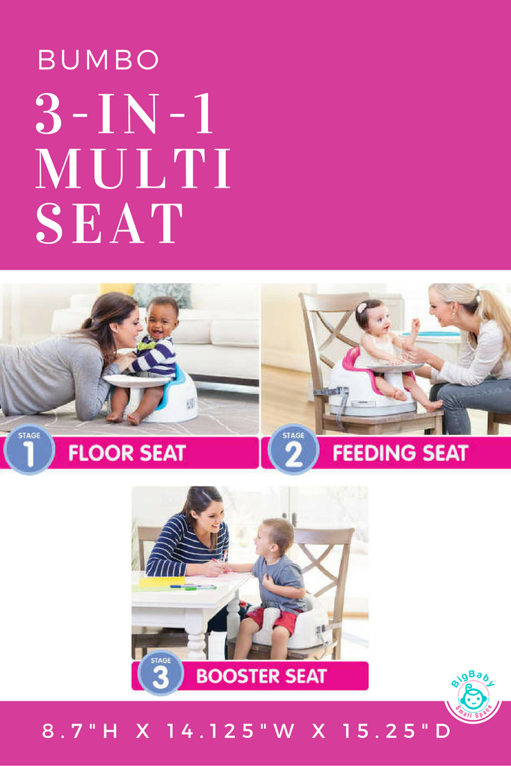 the bumbo 3 in 1 multi seat is ideal for babies who have already