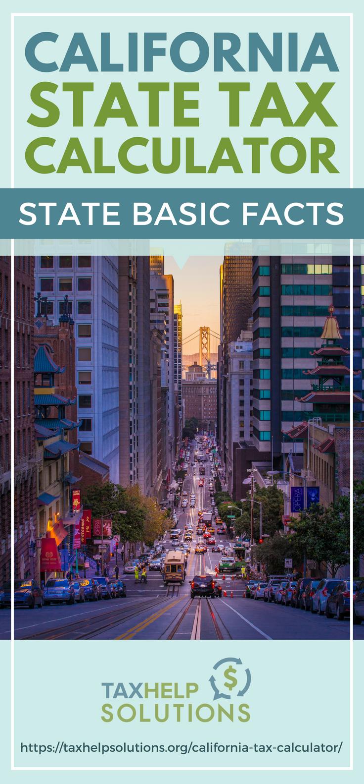 California Tax Calculator >> California Tax Calculator State Basic Facts Blogs Money Money