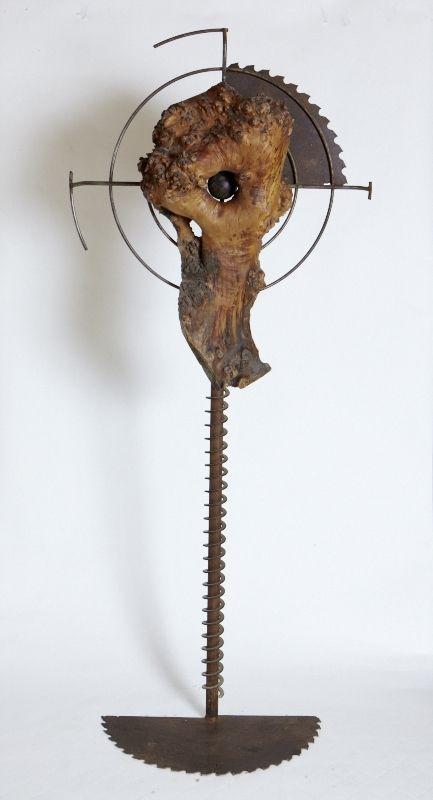 Zielscheibe Holz / Metall   ( $11250 )