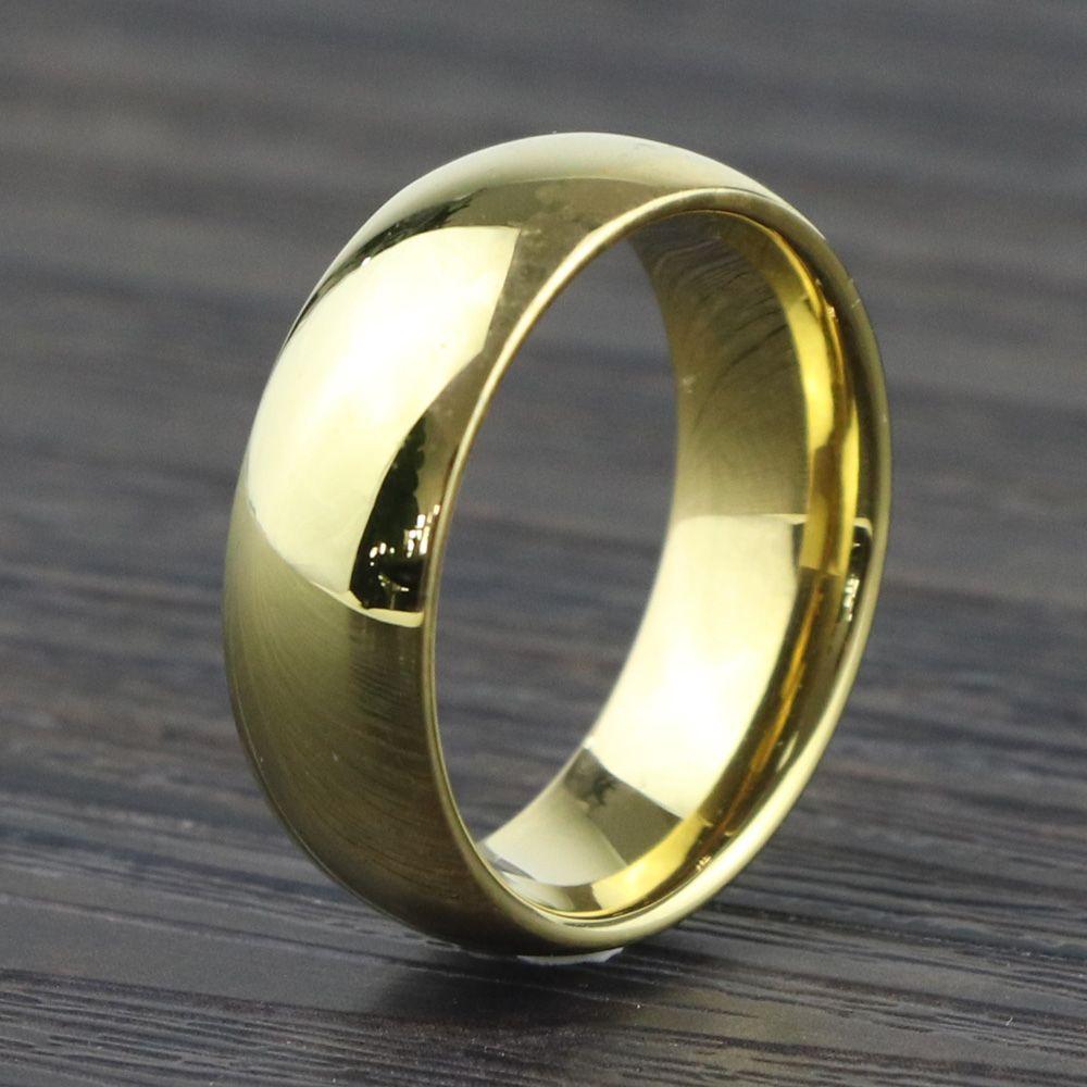 Cheap womens wedding band tungsten carbide 8mm mens