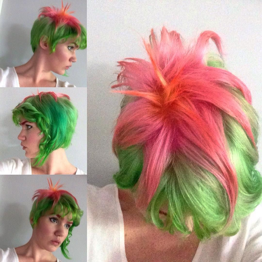Look Great Be Memorable Dramatic Hair Colors Bright Hair Colors Hair Styles