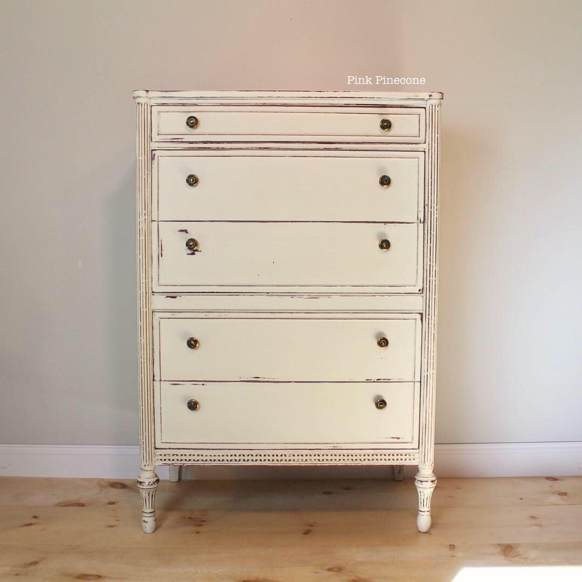 Tall Ivory Dresser Tallboy Dresser Antique White Paints Dream Decor [ 2250 x 2250 Pixel ]
