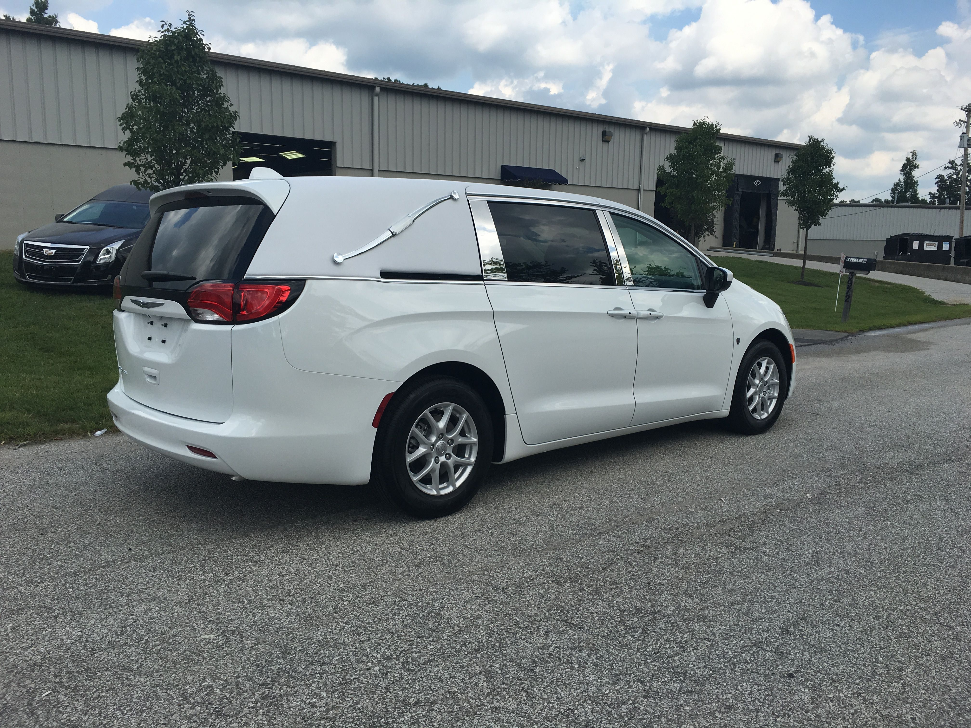 K2 Vehicles Chrysler Pacifica First Call Van Hearse Chrysler