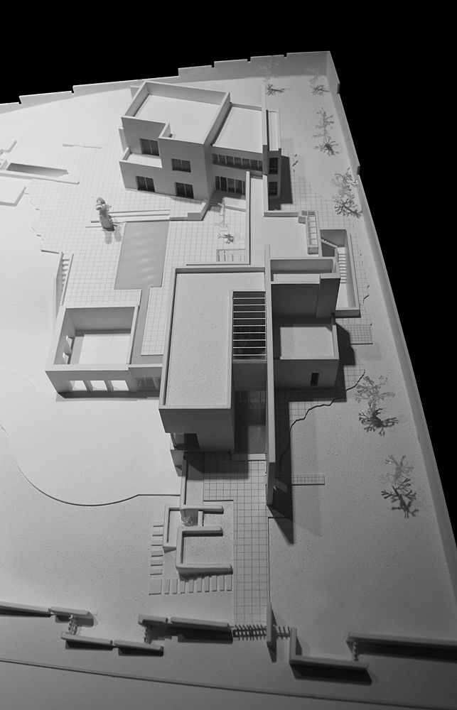 Galer a de casa abu samra symbiosis designs 1 for Casa minimalista maqueta