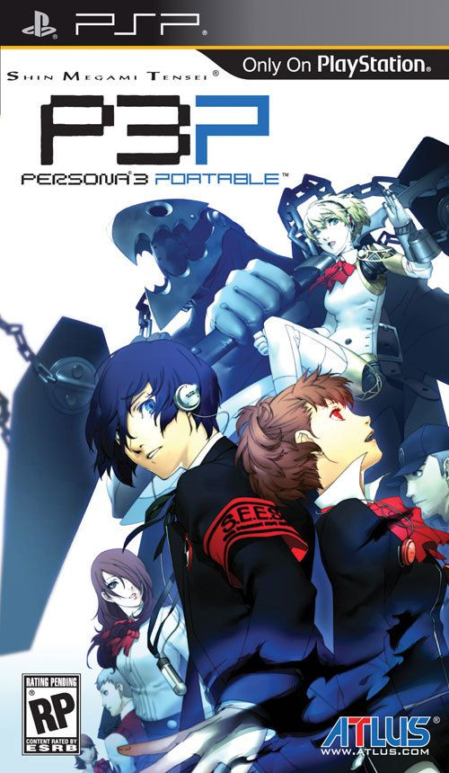 Persona 3 Portable Cover. | Persona 3 portable, Shin megami tensei persona,  Playstation portable