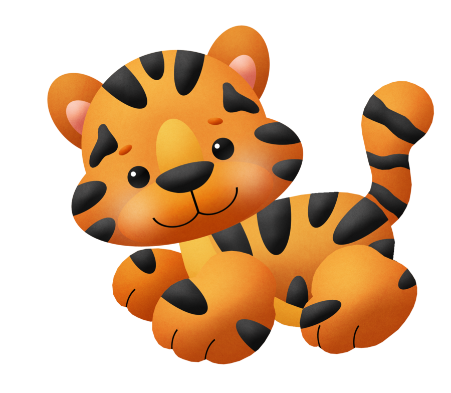 BABY KITTY OR TIGER CLIP ART Animal clipart, Baby clip art