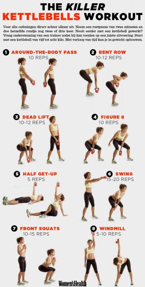 New De beste oefeningen: een full-body workout met de kettlebell &FZ23