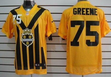 the latest 4b8ff ce7da Nike Pittsburgh Steelers #75 Joe Greene 1933 Yellow ...