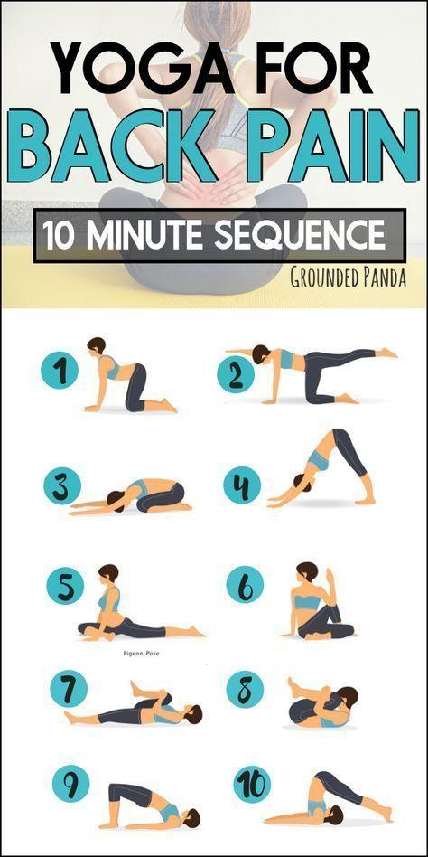 10 Minuten Anfänger Yoga Routine zur Linderung von Rückenschmerzen | Yoga Rove