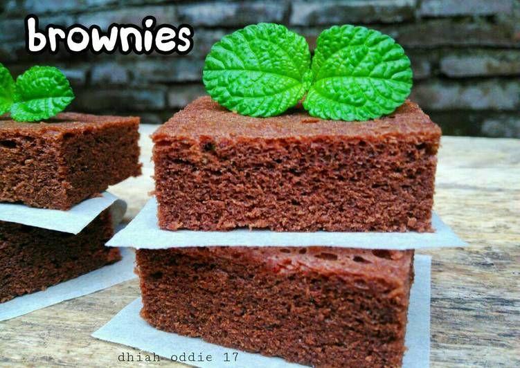 Resep Brownies Kukus Oleh Dhiah Oddie Resep Resep Brownies Coklat