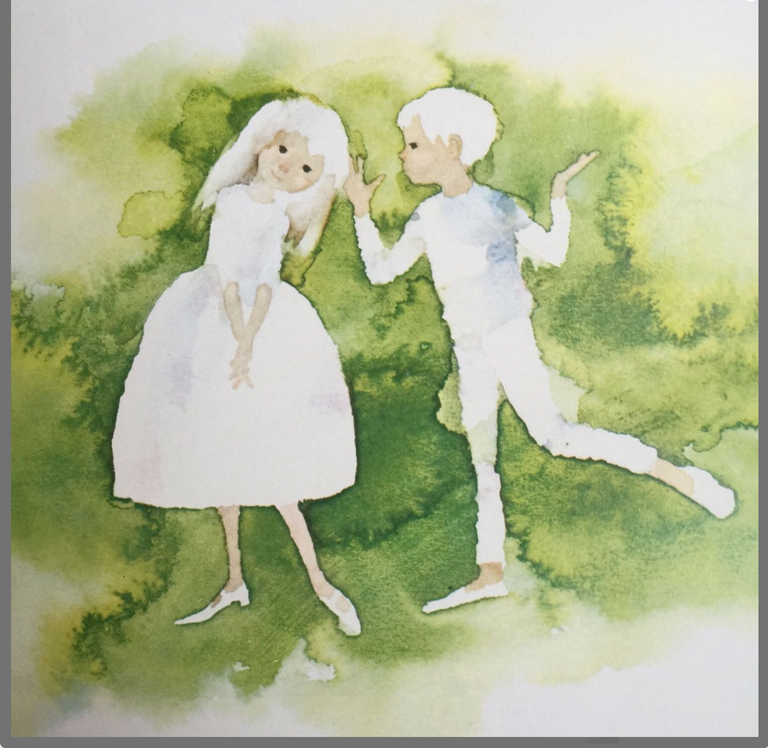 Rare K M Weber S Invitation To The Dance Chihiro Iwasaki Illus