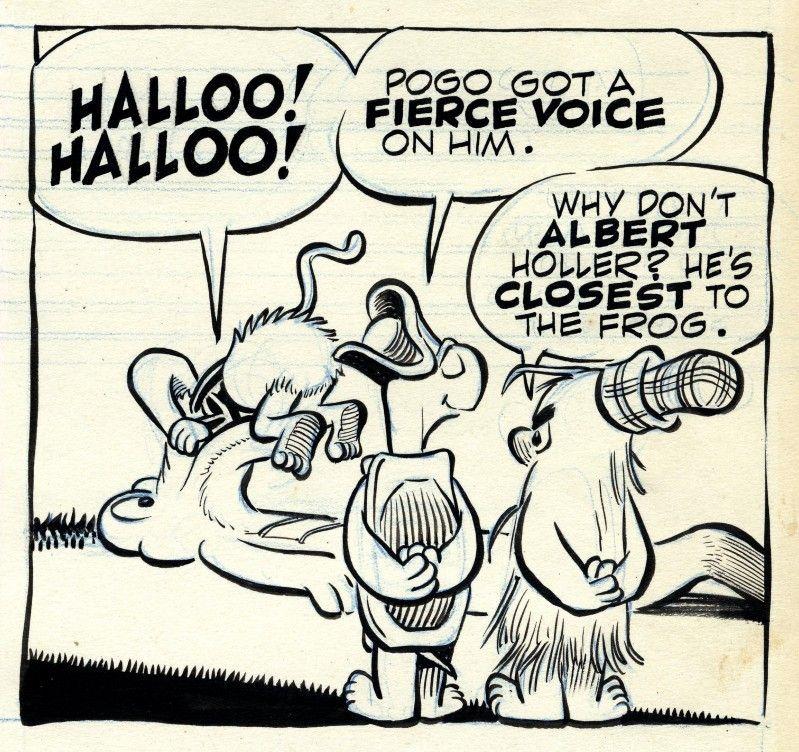 Walter Kelly - Pogo | Pogo, Cartoonist, Artist inspiration