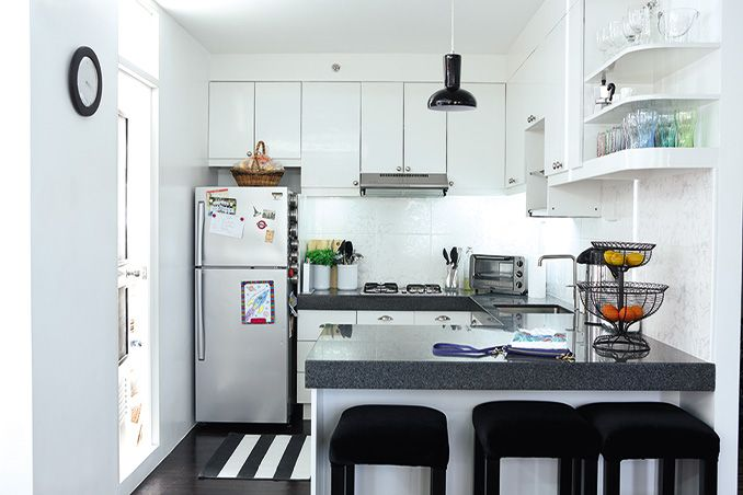 5 Smart Ideas For Small Kitchens Kitchen Remodel Small Condo Kitchen Remodel Small Condo Kitchen