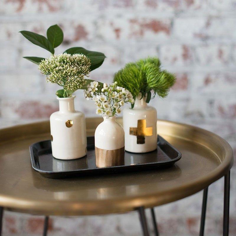 Home Decor Ideen 6 Möglichkeiten, Gehören Keramik In Ihrem Interieur / /  Kleine Knospe Vasen