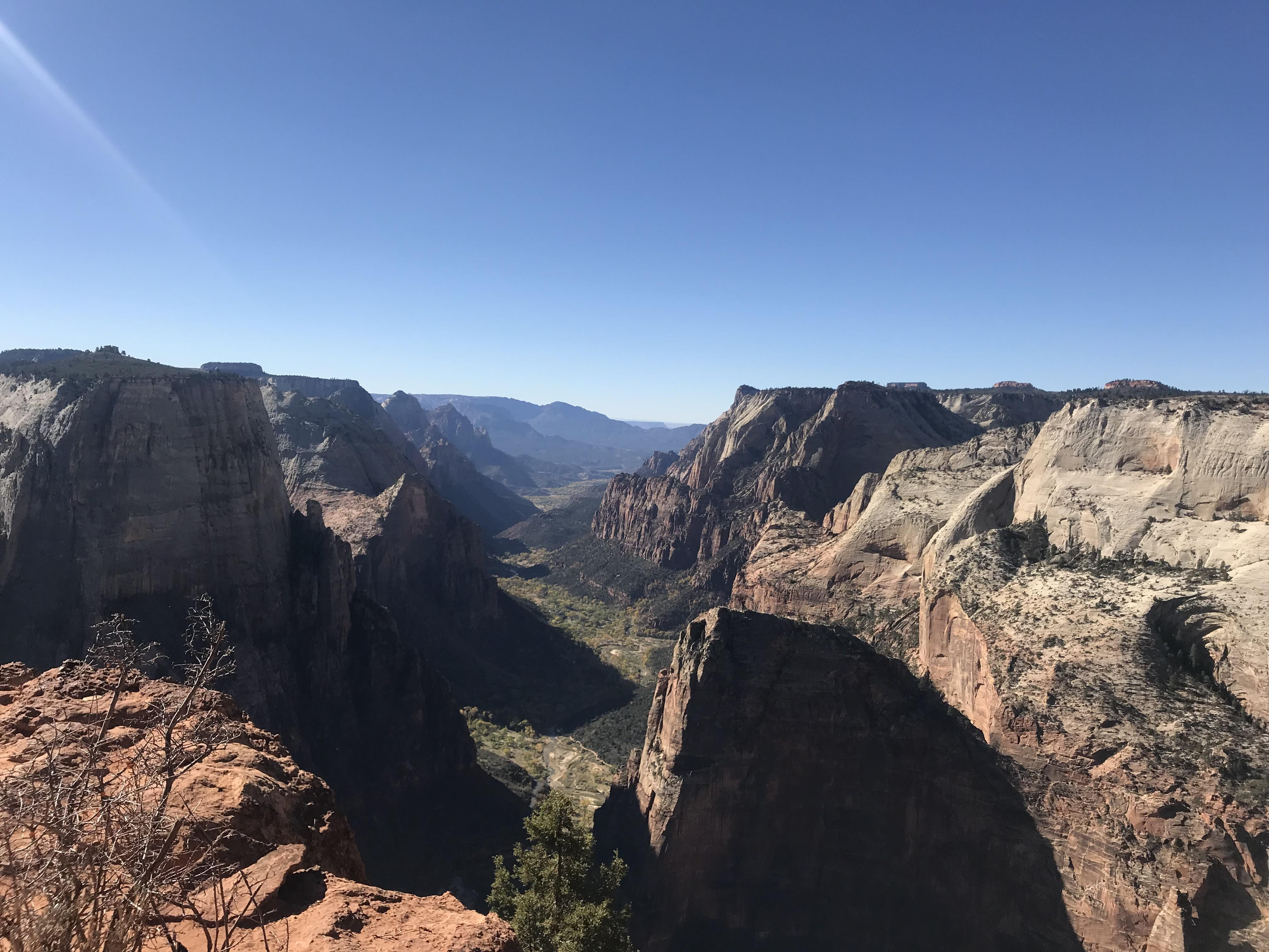 Hiked To Observation Point Zion National Park Utah This Morning