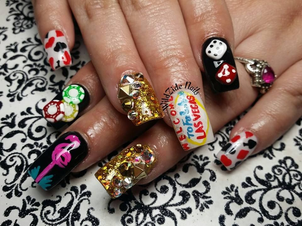 vegas nails wildzide