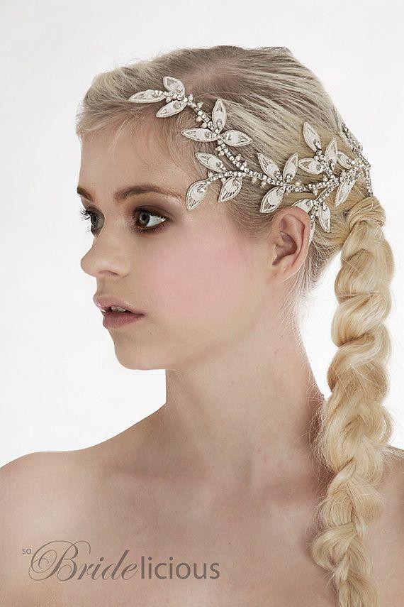 Eternal Aphrodite bridal hair vine