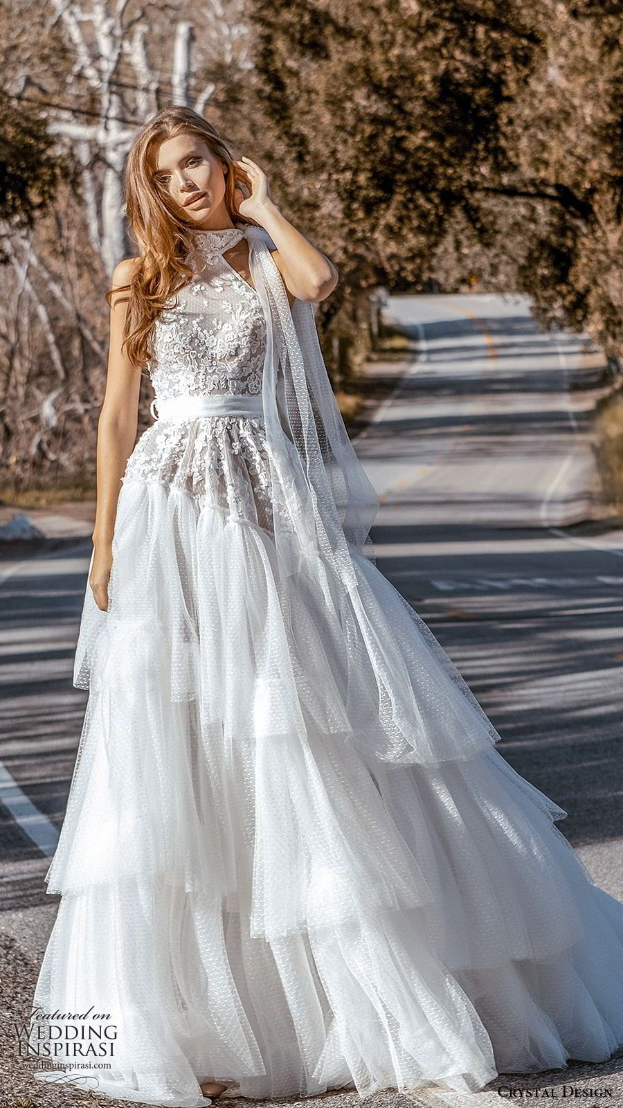 Crystal Design Couture 2020 Wedding Dresses Catching The Wind Bridal Collection Wedding Inspirasi Couture Bridal Gowns Princess Wedding Dresses A Line Wedding Dress