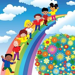 Worksheets For Preschool Learning Colors Rainbow Kids Learning Colors Preschool School Murals