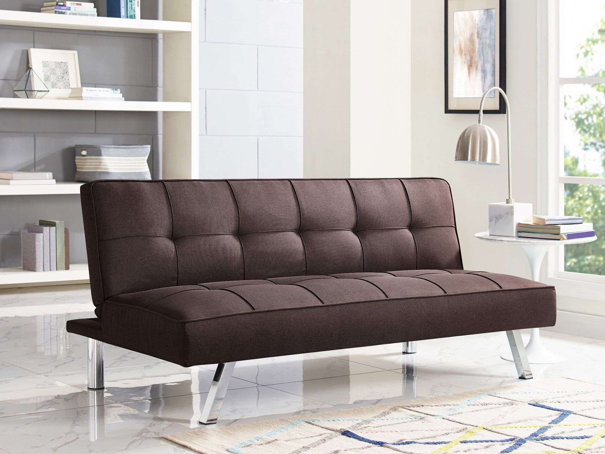 Phenomenal Modern Java Brown Convertible Sofa Bed Calton Caraccident5 Cool Chair Designs And Ideas Caraccident5Info