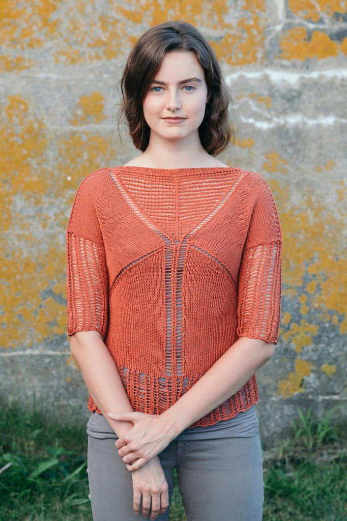arris tee knitting pattern - Quince and Co   knitting   Pinterest ...