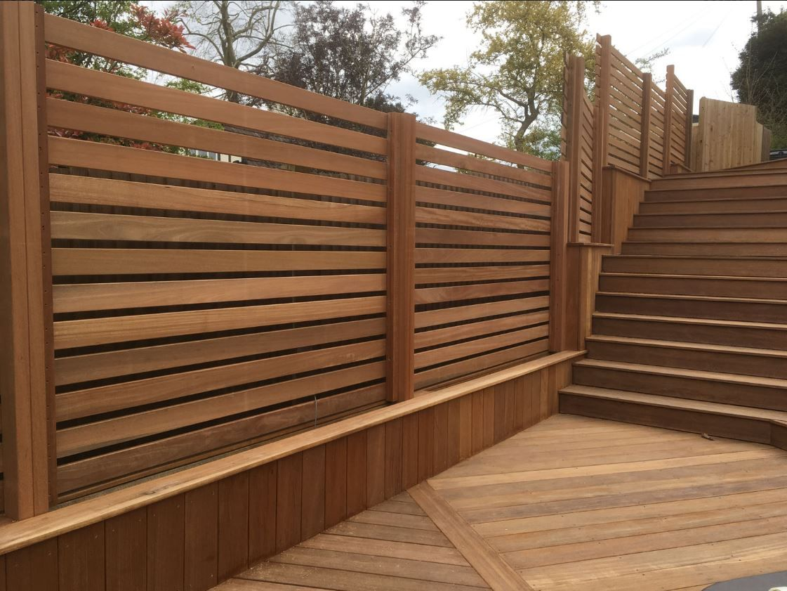Yellow Balau 21 X 145mm Decking And 19 X 90mm Fencing Hardwood
