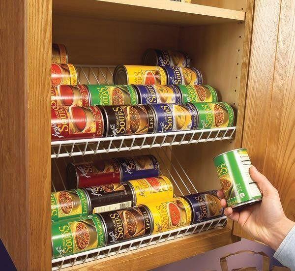 The easiest can food rotating racks to make yourself are taking wire the easiest can food rotating racks to make yourself are taking wire closet racks and turning solutioingenieria Images