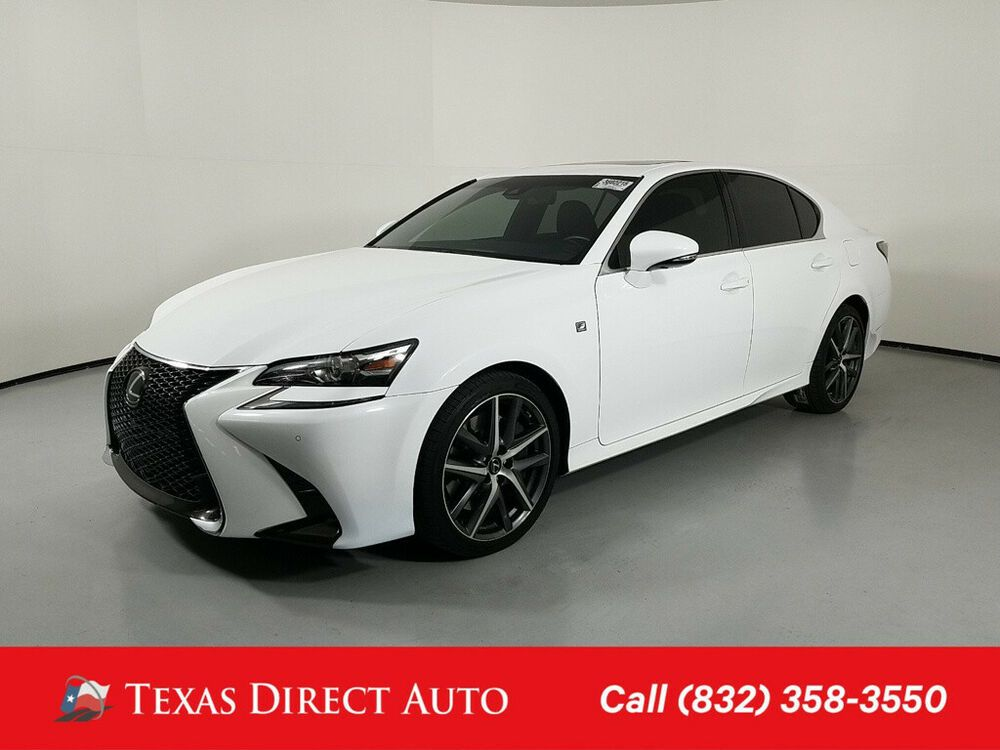 For Sale 2016 Lexus GS F SPORT 4dr Sedan Texas Direct