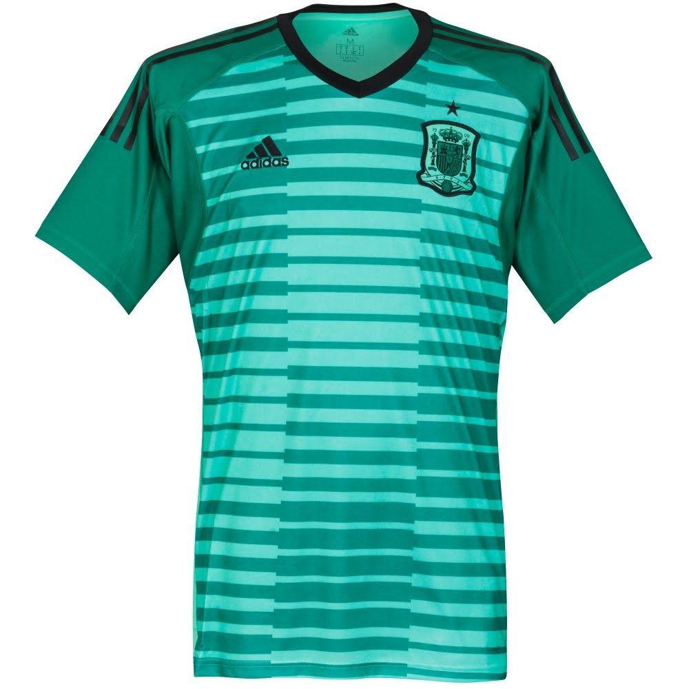 5bc2babd Camiseta Portero España 2018-2019 Local | Soccer | World cup jerseys ...