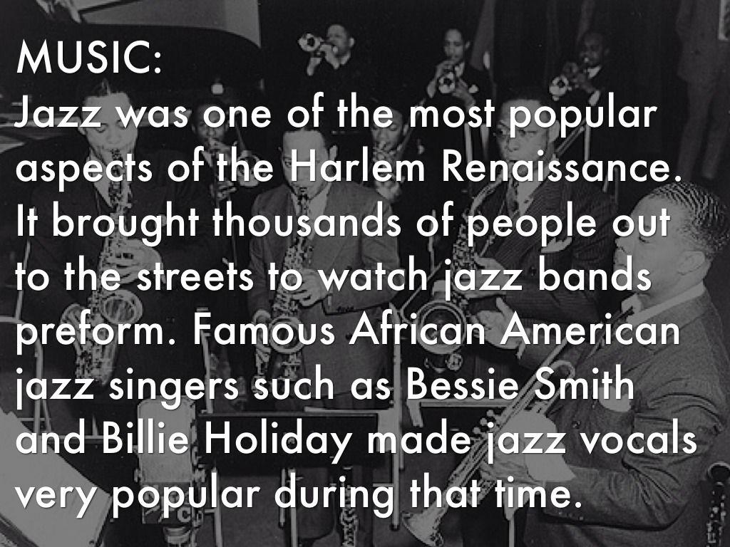 Harlem Renaissance Art Jazz