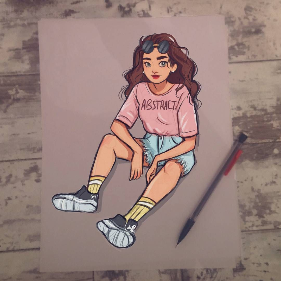 Quick Digital Colour Of A Pencil Sketch Think I M Gonna