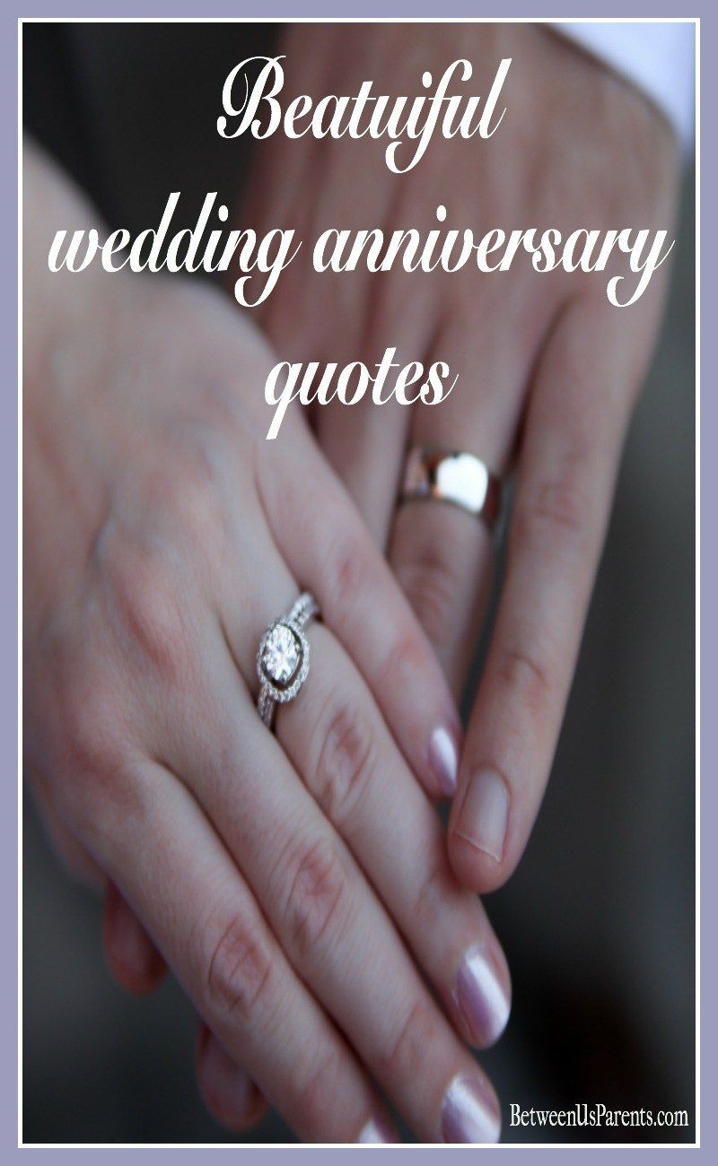 Beautiful Wedding Anniversary Quotes Wedding Anniversary Quotes