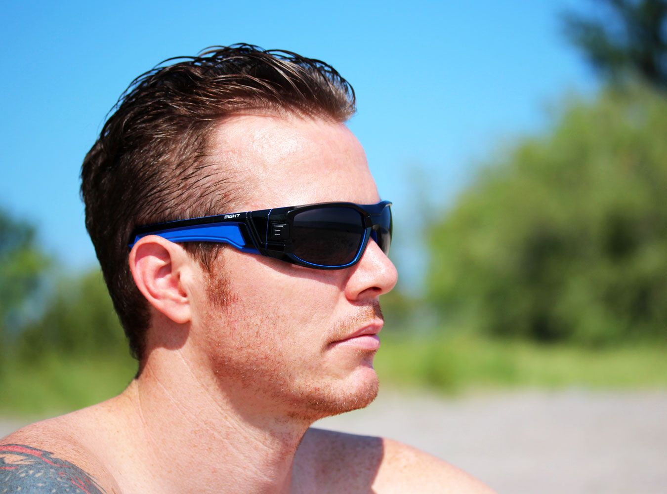 67bdbd91f2 Glossy Black Blue V.1 from EIGHT Eyewear WWW.IWEAR8.COM  8eyewear   sunglasses  shades  cool  mensfashion  fashion  style  summer  eight   sports  design ...