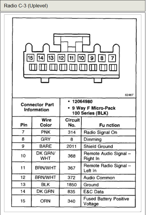 2002 Chevy Impala Wiring Diagram Radio from i.pinimg.com