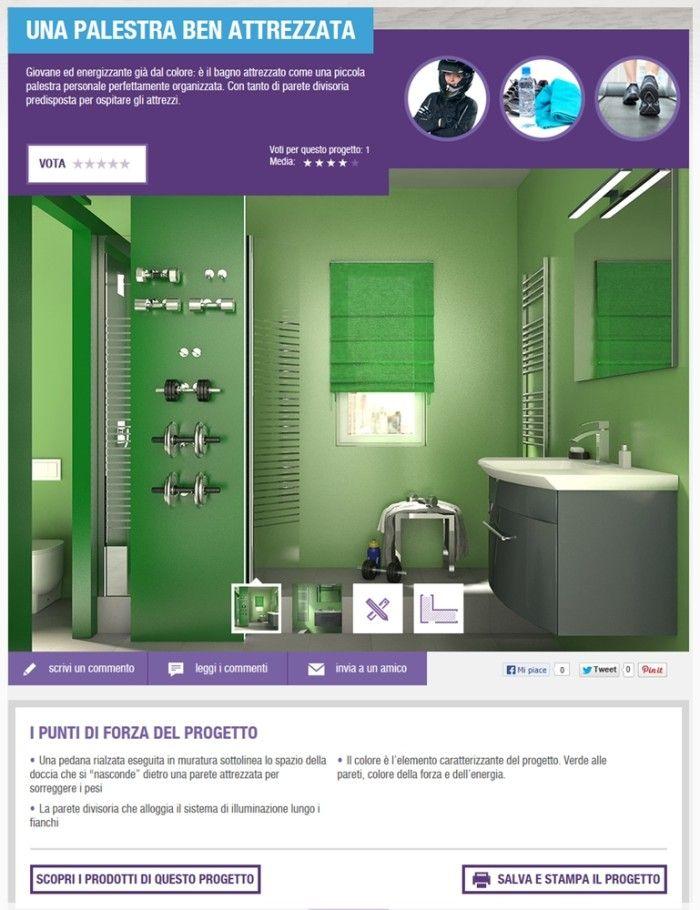 progetto-arredo-bagno-online l\'Architetto Online di Leroy Merlin ...