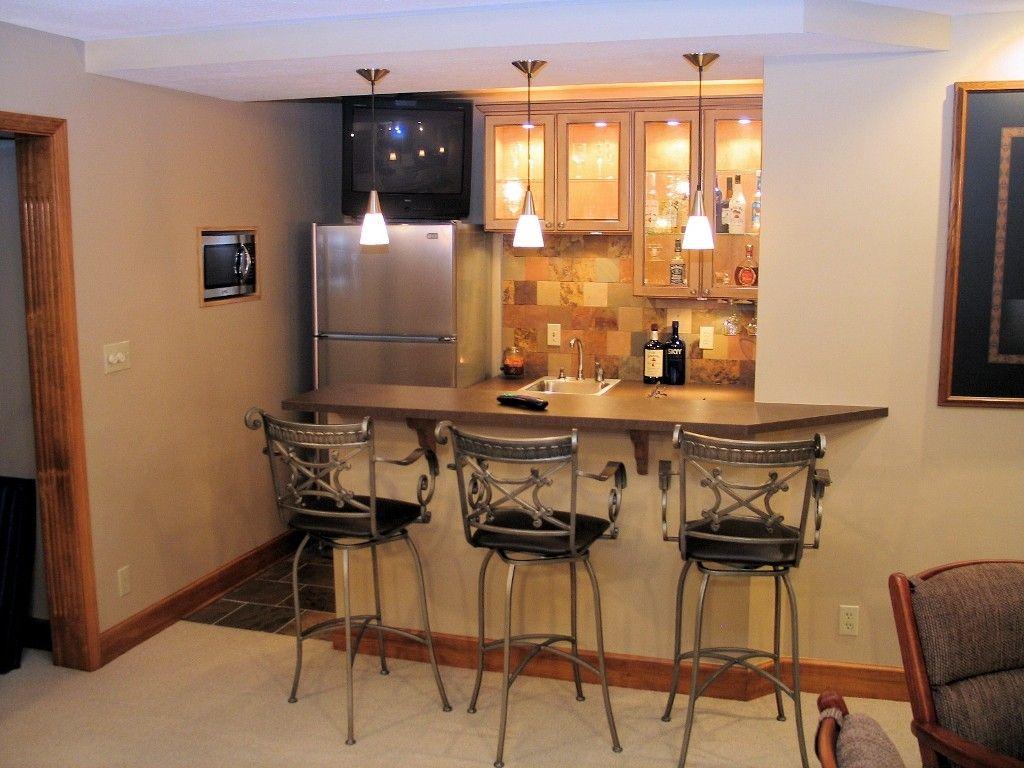 Attractive easy basement bar ideas with basement bar plans