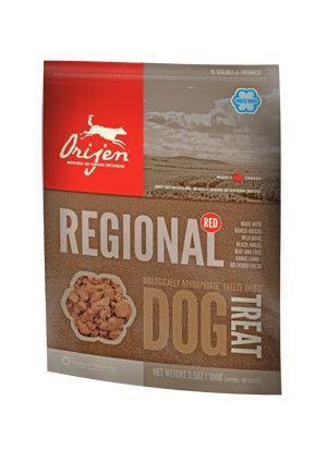 Orijen Dog Treat Freeze Dried Regional Red Frozen Dog Treats