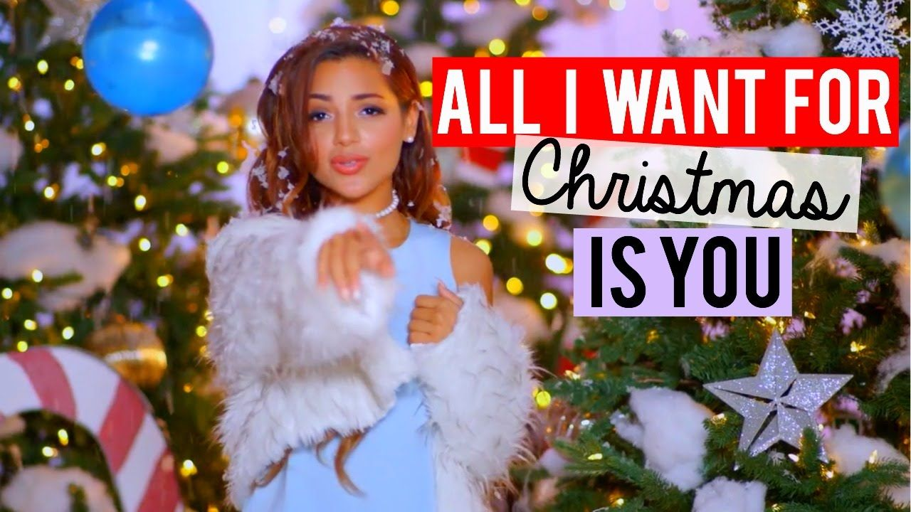 All I Want For Christmas Is You Mariah Carey Cover Niki And Gabi Gabi And Niki Mariah Carey All I Want