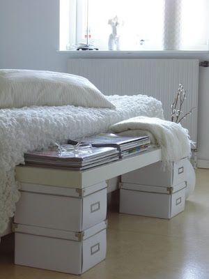 ikea hack: un banco de cama por cuatro duros : x4duros.com | diy ...