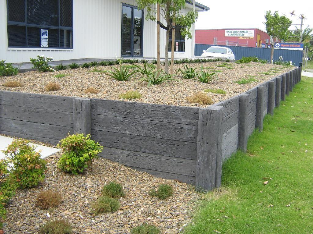 garden retaining wall design - Google Search   Garden wall ideas ...