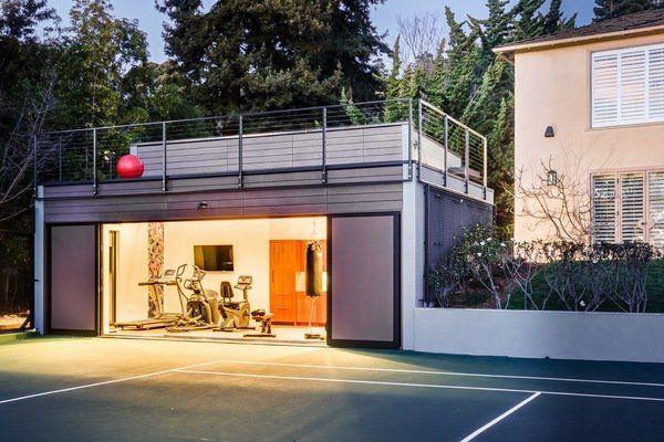 Modern garage gym design ideas home gym ideas how to design home gym