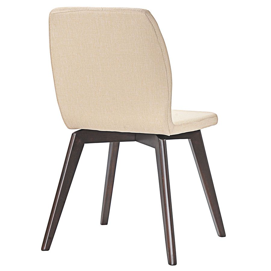 Progress Modern Beige Dining Chair  Deco