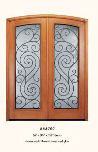 Pella Wood Entry Doors Be8200 Customize To Clear Glass Our House