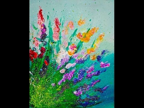 i want to learn how to paint abstract art