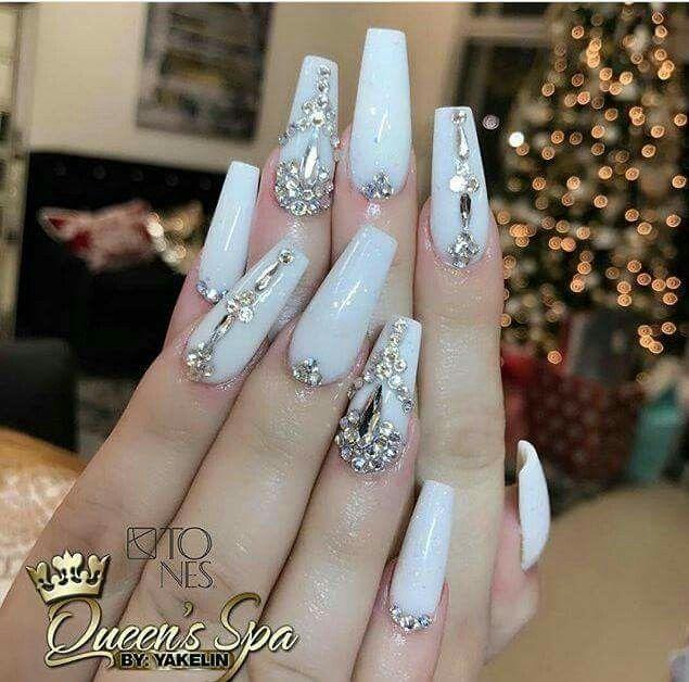 Pin de Evelin en Nails | Pinterest | Diseños de uñas, Uñas con ...