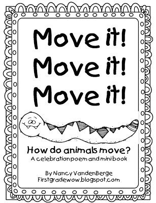 FREE Mini-Unit on How Animals Move and other cute animal